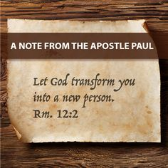 When you give your life to God, He will transform you into a new person, wiping your slate clean. #notesfromtheapostles #Christian #faith #God #bibleverse