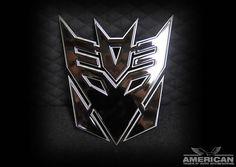 Universal Grille Logo - Transformers Decepticon