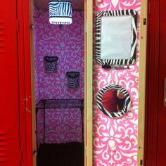 School locker make-over