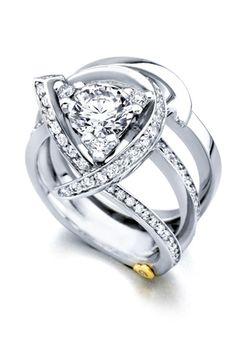 Luxury - 15330 by Mark Schneider Design - Engagement Rings // More from Mark Schneider Design - Engagement Rings: http://www.theknot.com/gallery/wedding-rings/Mark Schneider Design - Engagement Rings