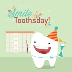 TOOTHSDAY: a day every week to pay special attention to your oral care habits! #dentistredondobeach