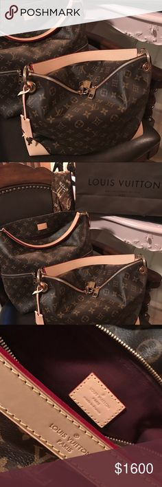 1f0c6262f Louis Vuitton Monogram Berri mm Shearling my Berri & Melie from my personal  Arm Candy Collection 💕 Louis Vuitton Bags Shoulder Bags