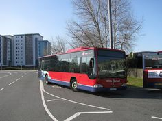 Mercedes Benz Citaro HF06FTO outside Poole Bus Depot.     I actually like these cars