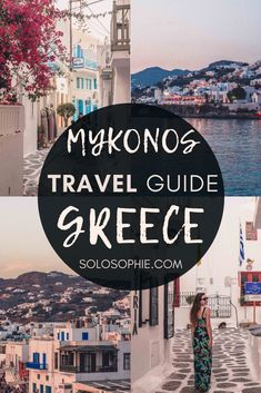 Looking to spend one day in Mykonos, one of the most beautiful places to visit in Greece? Here's your perfect Mykonos itinerary for the best attractions and things to do on the Greek island! #greece #mykonos #cyclades