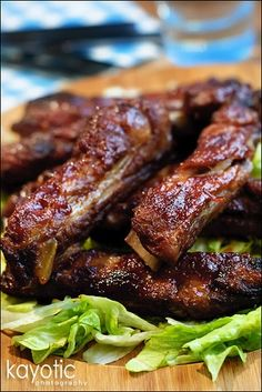 Spare Ribs - We made this for lunch today and it was a hit! :)