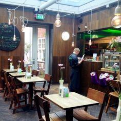 Lunchroom van De Wereld van Jansje #grotehoutstraat #haarlem #lunch