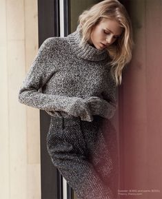 Fabienne Hagedorn and Ben Hill with Winter Style for Luxury Magazine Photoshoot