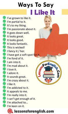 English Sentences, English Idioms, English Phrases, Learn English Words, English Lessons, English Learning Spoken, Teaching English Grammar, English Language Learning, Essay Writing Skills