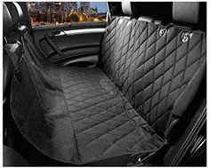 BEISHUO Durable Car Rear Waterproof Anti-Stain Non-Slip-Backing Pet Mat Seat Cover *** Learn more by visiting the image link.