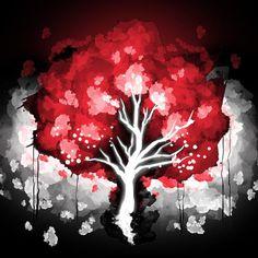 Blood Moon Tree