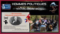 """Les Hommes politiques? Tous des """"marionnettes"""" au service de l'oligarchi..."""