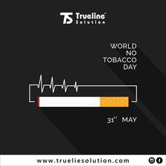 Trueline Solution is Top Digital Marketing Company in Surat, Gujarat, and India. Trueline is Top IT Company in Surat for Mobile App, Software, Website Development Poster Designs, Graphic Design Posters, No Smoking Day, Smoking Campaigns, Top Digital Marketing Companies, World No Tobacco Day, Ganesha Painting, Medical Technology, Important Dates