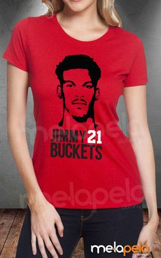 Ladies Fit  Jimmy Butler Jimmy Buckets 21 by MelaPelaClothing