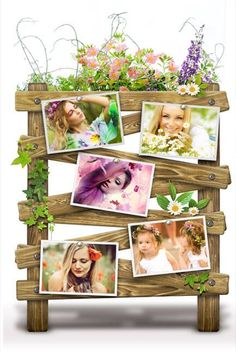 Amazing spring frames for your photos!