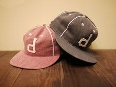 """DeMarcoLab """"WASHED DENIM CAP by EBBETS FIELD FLANNELS"""""""