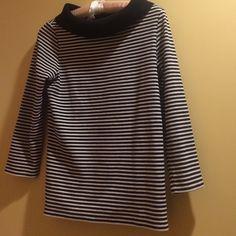 Rafaella top New Without Tags nwot striped , 95% cotton 5% spandex medium weight, never worn, top by Rafaella Rafaella Tops Tunics
