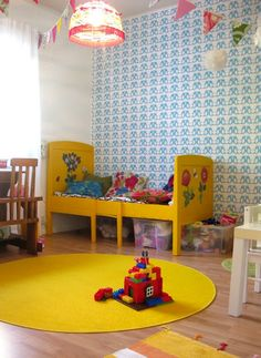 Kids' Rooms with Yellow Accents