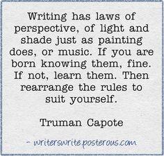Quotable - Truman Capote - Writers Write Creative Blog