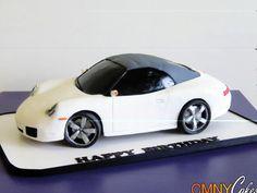 another Porsche cake