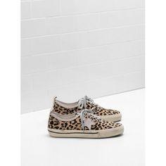 Acquistare 2017 GGDB Golden Goose California Donna Sneakers Leopardo