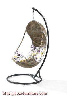 Outdoor Furniture Rattan Hammock Chair (BZ-W003) (BZ-W003) - China Swing chair, BZ