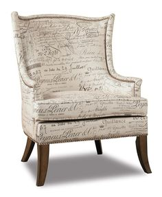 Shop for Hooker Furniture Paris Accent Chair, and other Living Room Chairs at Merinos Home Furnishings in Mooresville, NC. Bewitching in style this chair is crafted with Document Fossil Fabric. Upholstered Chairs, Wingback Chair, Arm Chairs, Wood Chairs, Eames Chairs, Bed Sofa, Lounge Chairs, Sectional Sofa, Dining Chairs