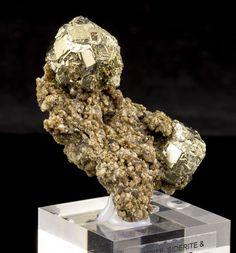 Pyrite, Siderite & Sphalerite Mineral Specimen from Panasquiera Mine, Portugal