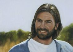 A image of the Savior painted by Liz Lemon Swindle. Interview.