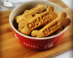 Customized Cookie Cutter Personalize Dog Treats with by Made3D