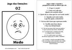 Carlota jogo das emoções 2 medo Hans Christian, Emotional Intelligence, Psychology, Coaching, Homeschool, Stress, Books, Kids, Children
