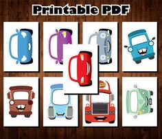 PLEASE NOTE: This is an INSTANT DOWNLOAD listing - NO PHYSICAL ITEMS WILL BE SENT TO YOU. These are the perfect printable Disney Cars set that you can print for your party! YOU WILL RECIEVE One high quality PDF file Please note, this listing does not include any changes (color,