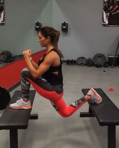 """5,339 Likes, 333 Comments - Alexia Clark (@alexia_clark) on Instagram: """"Power Plyos! When it's Friday and your feeling crazy! Start off trying these exercises with lower…"""""""