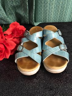 b5201378f NEW DANSKO WOMEN S SOPHIE SLIDE BUCKLE SANDALS TEAK VINTAGE size 37 (7 )   fashion