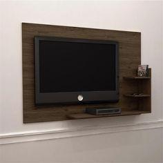 Painel Exclusive Amêndoa - Kiplac -Móveis e Decoração - Painéis para TV - Walmart.com
