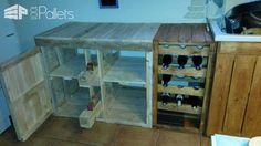 Cuisine Maison En Palettes / Pallets Kitchen Pallet Desks & Pallet Tables