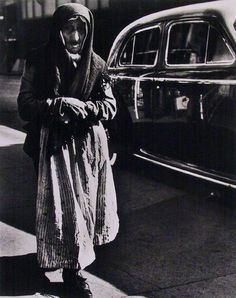 Lisette Model. NYC. 1940. Old Woman, Lower East Side.