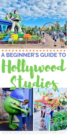 disney A Beginner's Guide to Disney's Hollywood Studios with preschoolers. Sharing the best rides, shows, and character meet & greets for the youngest Disney fans! Disney World Tipps, Disney World Parks, Walt Disney World Vacations, Disney World Tips And Tricks, Disney Tips, Disney Love, Disney Magic, Disney With Baby, Disney Travel