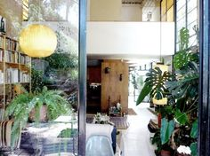 Eames house, by Ken Miller