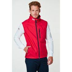 CREW VEST A lightweight stylish sailing vest for men on windy summer days.