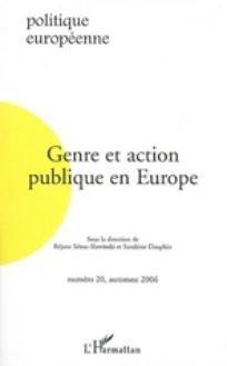 Genre et action publique en Europe