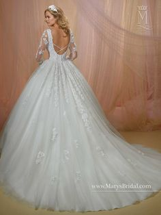 Bridal Gowns - Unspoken Romance - Style: 6455 by Mary's Bridal Gowns