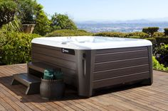 Looking for a luxury spa? The innovative NXT #HotSpringSpas are designed with help from BMW Group DesignworksUSA. Enjoy a therapeutic soak in a #hottub that looks as good as it feels.