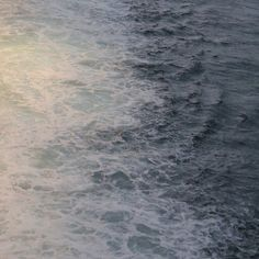 Wake Patterns in the Sea (Ocean Pic) Ocean View Water Crashing on the shore Love it!