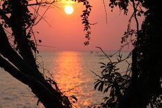 Sunset at Sandy Hook New Jersey