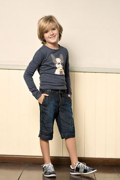 M2A Jeans | Fall Winter 2014 | Kids Collection | Outono Inverno 2014 | Coleção Infantil | peças | blusa estampada infantil; bermuda jeans infantil; jeans; denim.