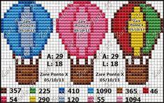 Ângela Bordados: Vamos colorir toalhinhas infantis? esses balões são lindos!!
