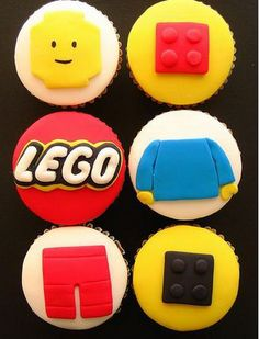 lego cupcakes - Some people are just amazingly talented!! #LegoDuploParty