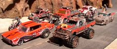 Road Wolf Vehicles and Terrain. Car Wars.