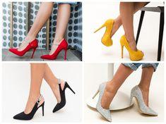 Aici gasesti cele mai frumoase modele de pantofi dama pentru primavara 2020 Louboutin Pumps, Christian Louboutin, Stiletto Heels, Mai, Shoes, Fashion, Moda, Zapatos, Shoes Outlet