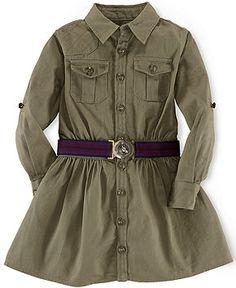 Ralph Lauren Toddler Girls' Lightweight Equestrian Dress